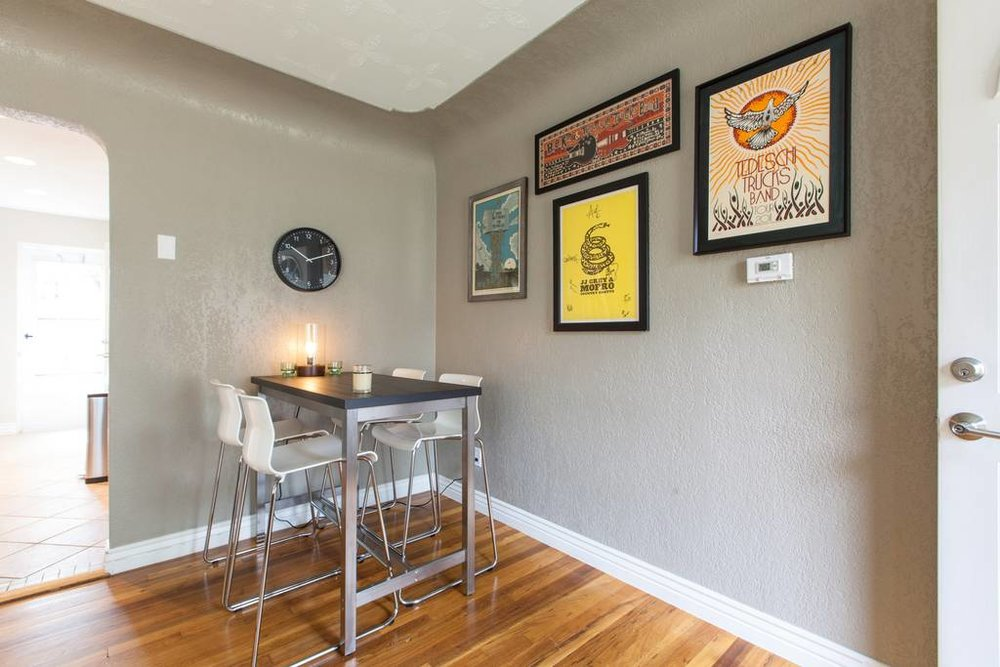 Denver Airbnb Dining Room - Urban Bungalow