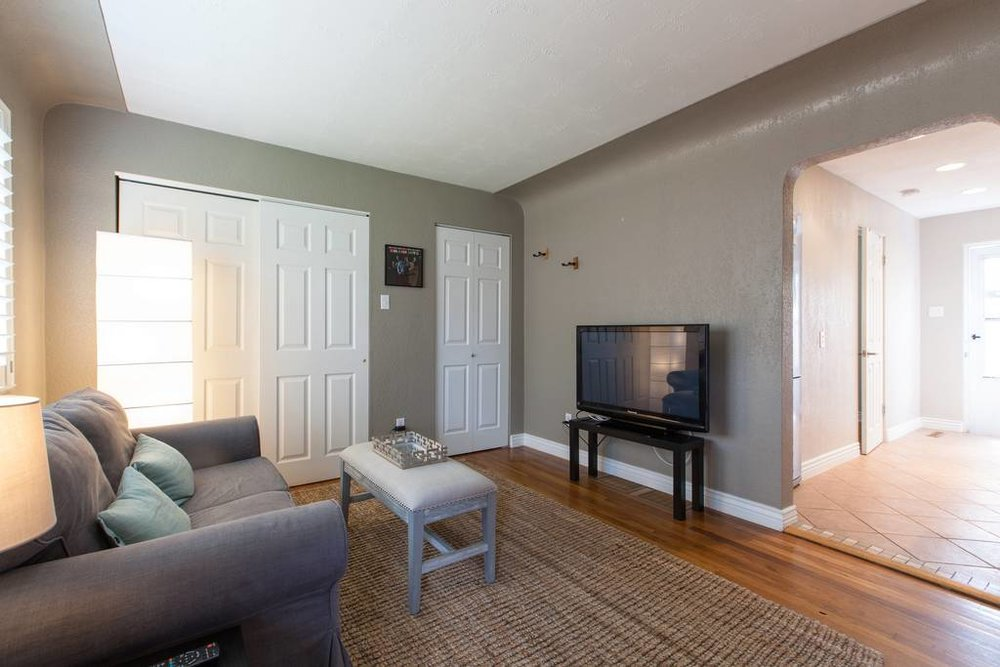 Denver Airbnb Living Room - The Urban Bungalow