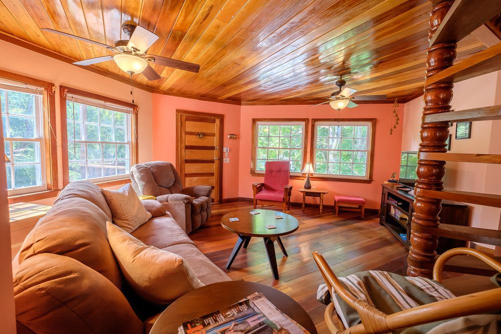 2 BR / 2 BA Wooden Home + Loft