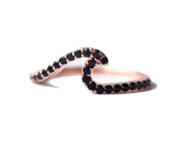 Fayt Sapphire Wave Ring - 875.00