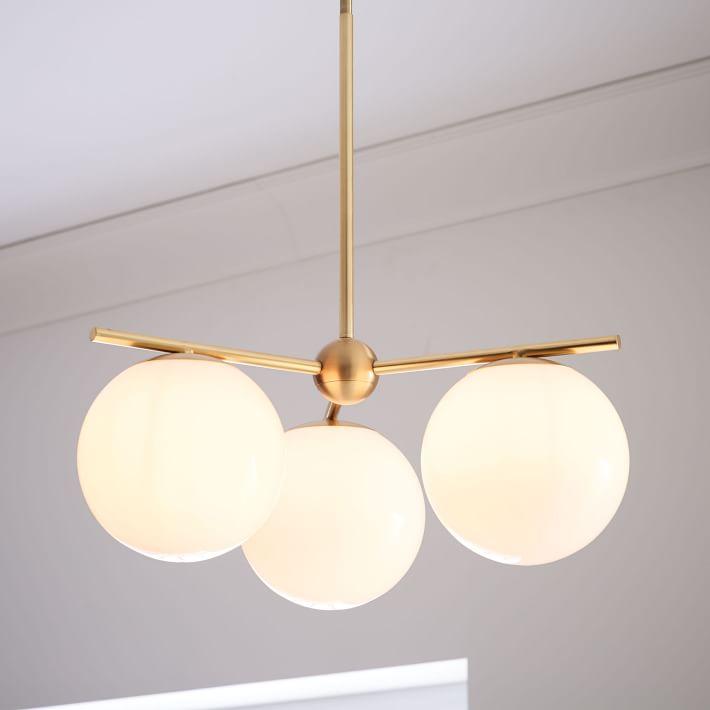 Sphere + Stem 3-Light by West Elm