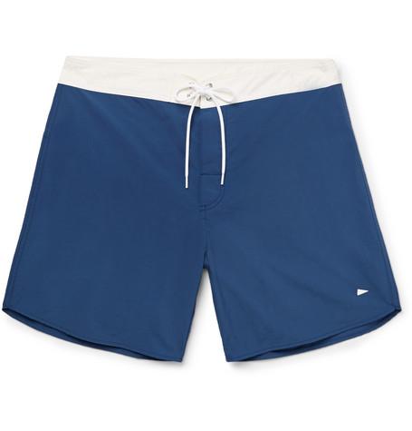 PILGRIM SURF + SUPPLY Dorry Mid-Length Nylon Shorts
