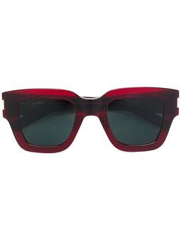 Saint Laurent Brown Square Sunglasses