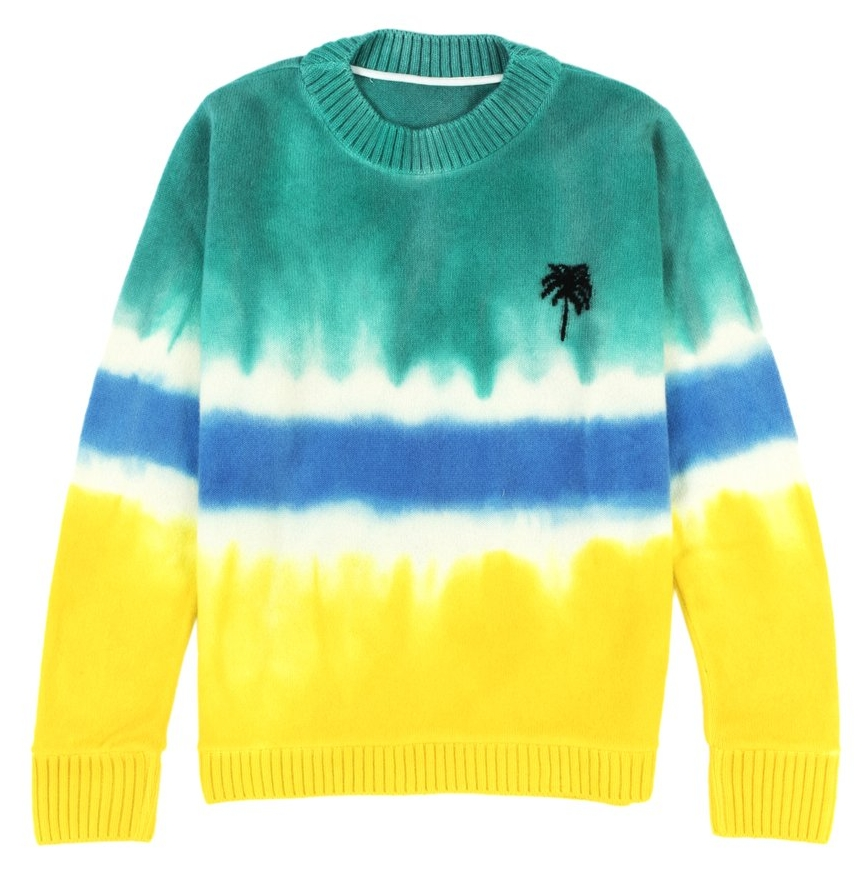 Dyed Palm Tree Sweater – The Elder Statesman