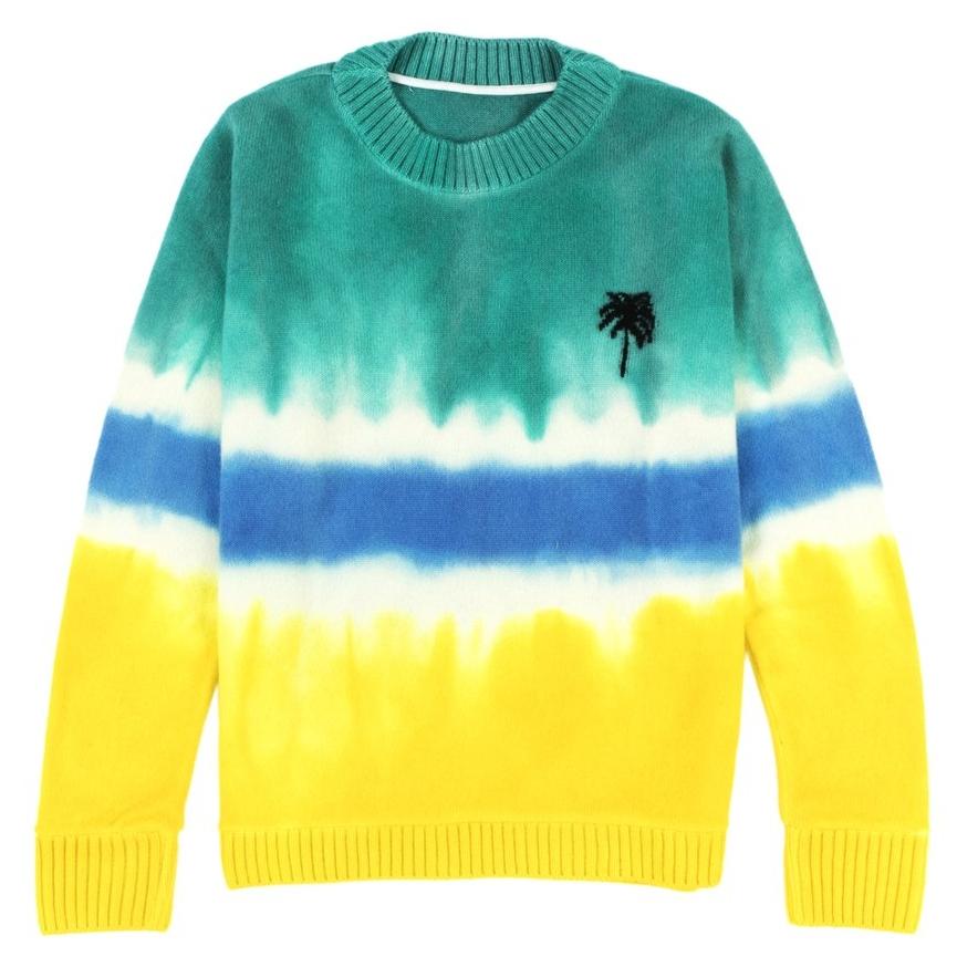 Dyed Palm Tree Sweater – The Elder Statesman