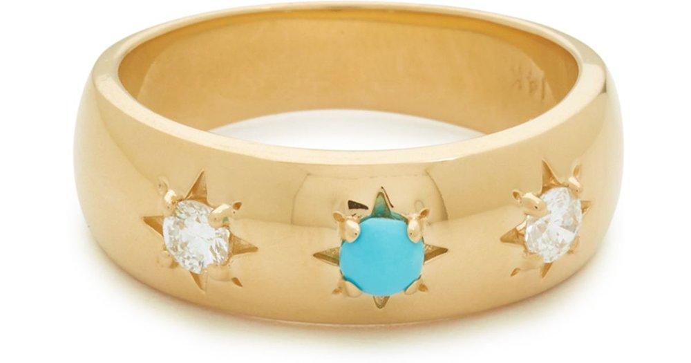 White Gypsy Ring — Fayt Jewelry