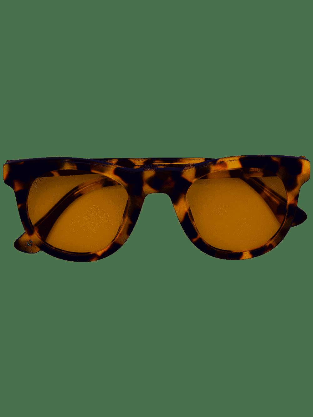 Tortoiseshell Print Square Sunglasses – DRIES VAN NOTEN X LINDA FARROW