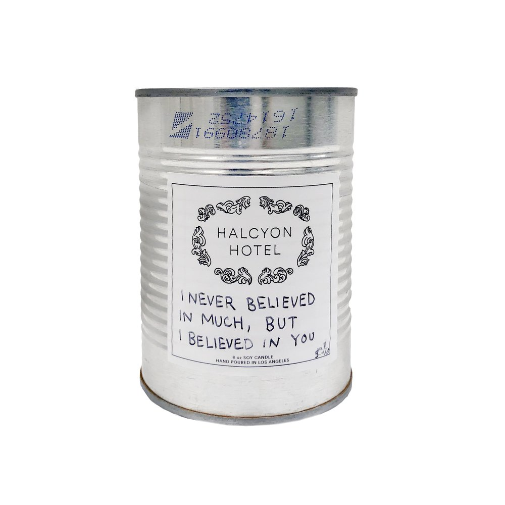 Matt McCormick x Halcyon Hotel Limited Edition Candle