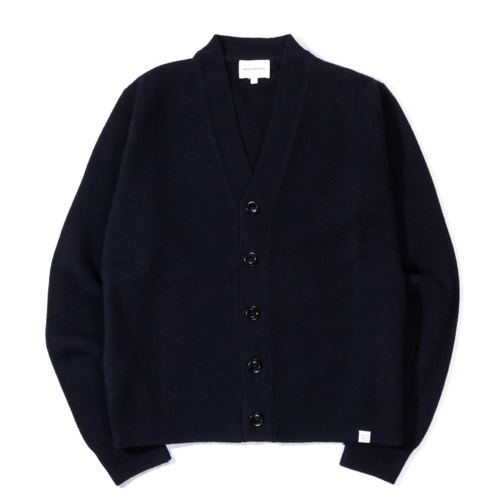 Norse Projects Adam Lambswool Cardigan