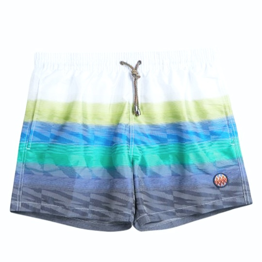 MISSONI Gradient Stripe Swim Shorts