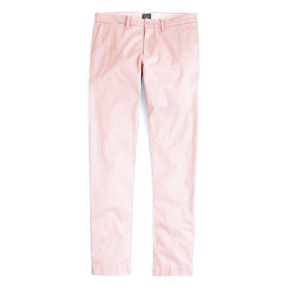 JCrew 484 Slim-fit pant in stretch chino