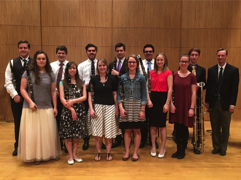 Winter 2016 Clarinet Studio