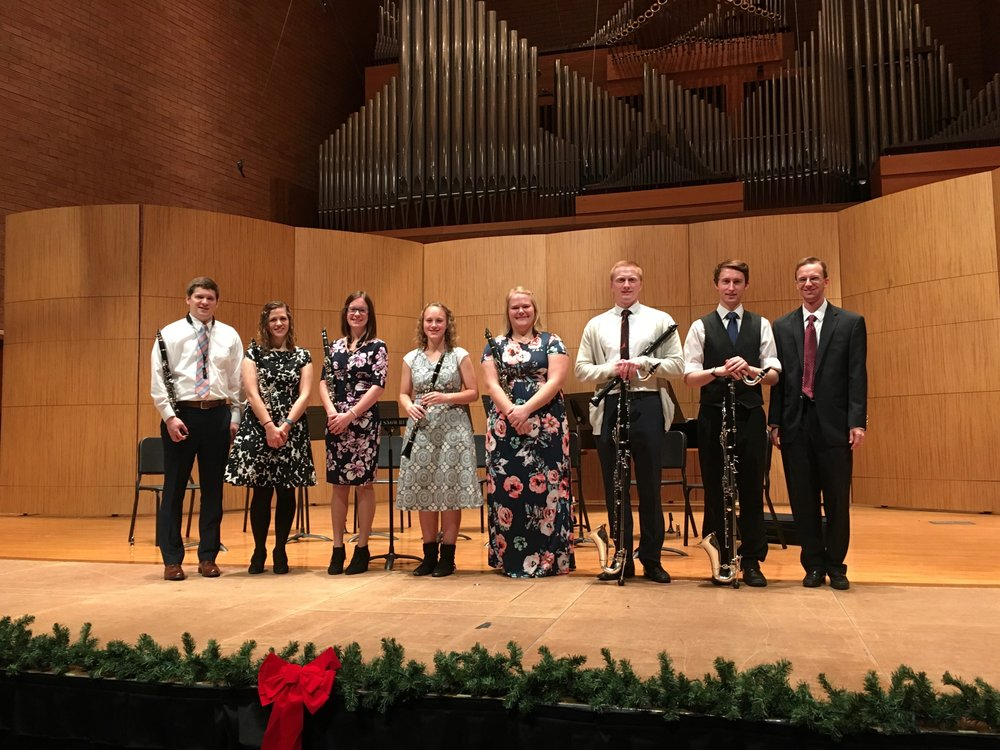 Fall 2017 Clarinet Studio