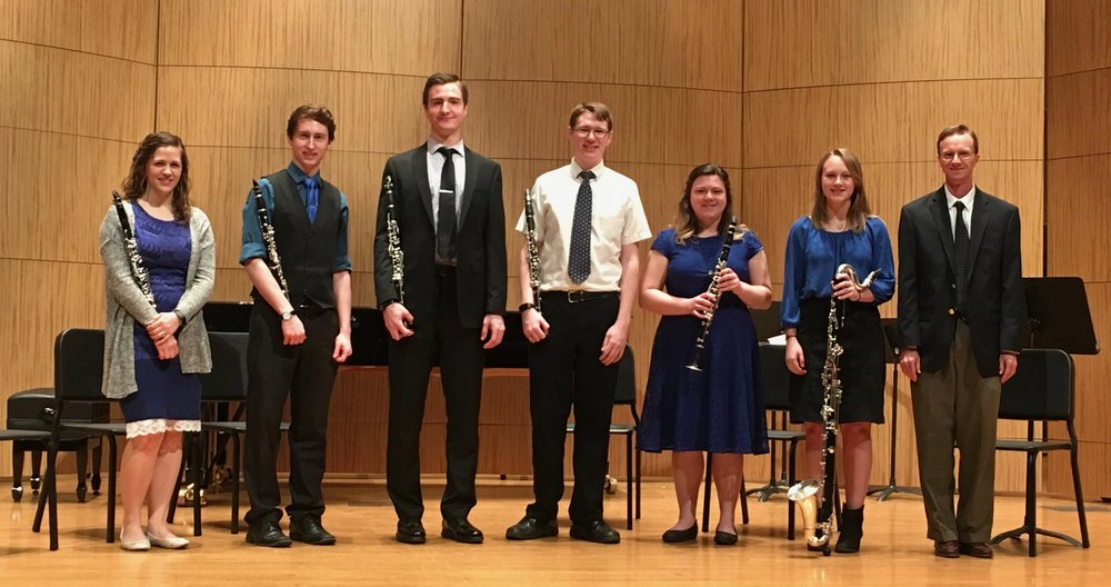 Winter 2018 Clarinet Studio