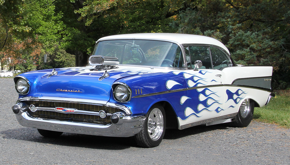 2016 – 1957 Chevy Bel Air Pro street