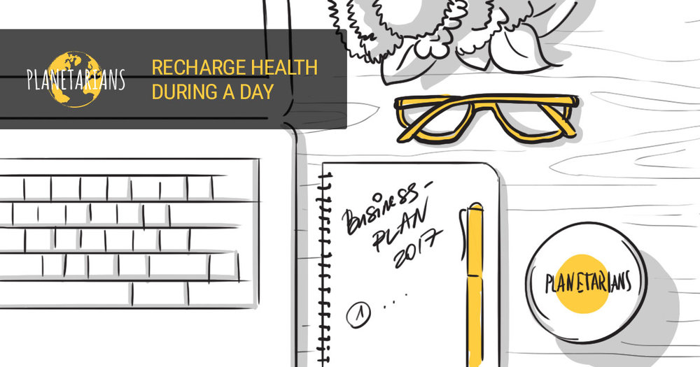 Recharge Health During a Day! -