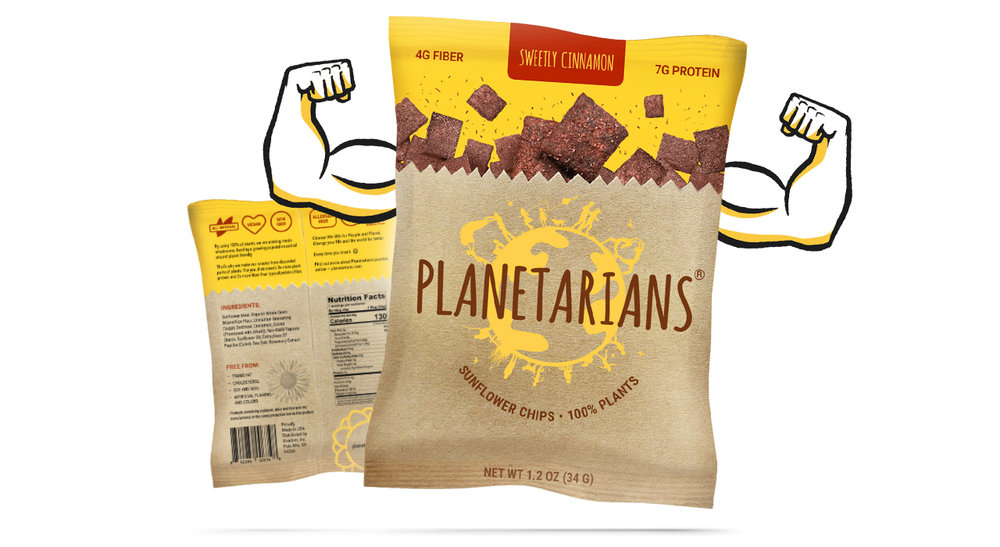 Sunflower Chips From Sunflower Meal Planetarians
