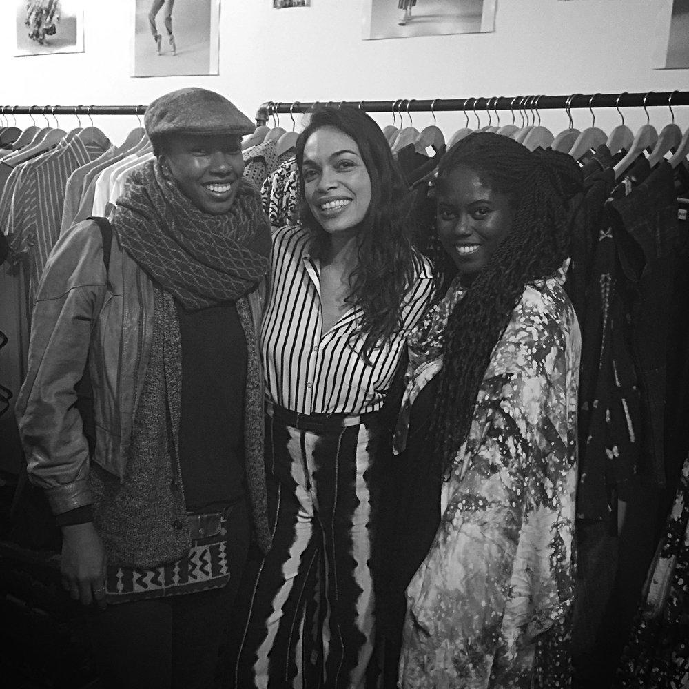 Rosario Dawson + Abrima Erwiah Studio 189