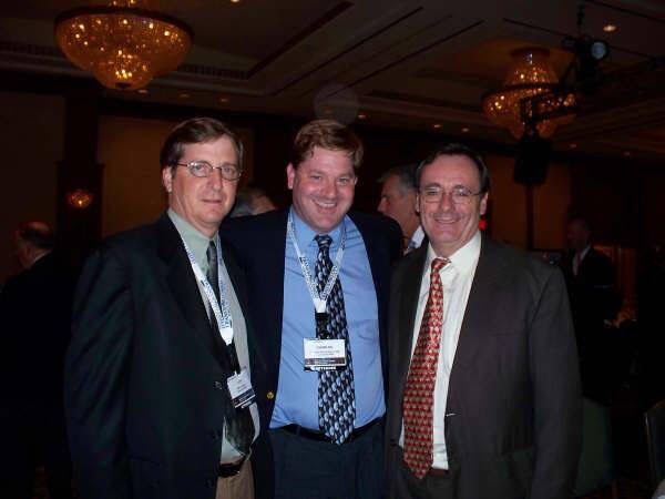 Dr. Charles Richardson with Jeff Edwards, author, and Inge Thulin, CEO of 3M