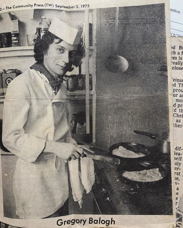 Found a newspaper clipping of my Pops today for opening his French restaurant in Portland in 1975. I laughed and melted when I found this. There wasn't a lot of French cuisine available at that time and every once in a while I meet someone who remembers how amazing the food was. Pretty proud of him for all he's dared to do as he approaches retirement & returns to the motherland.