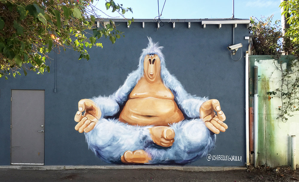 Alley at Gjusta Bakery, Venice CA 2015