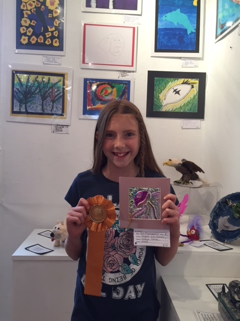 Eva Franceschini: winner of the People's Choice Award for 3-5th grade.