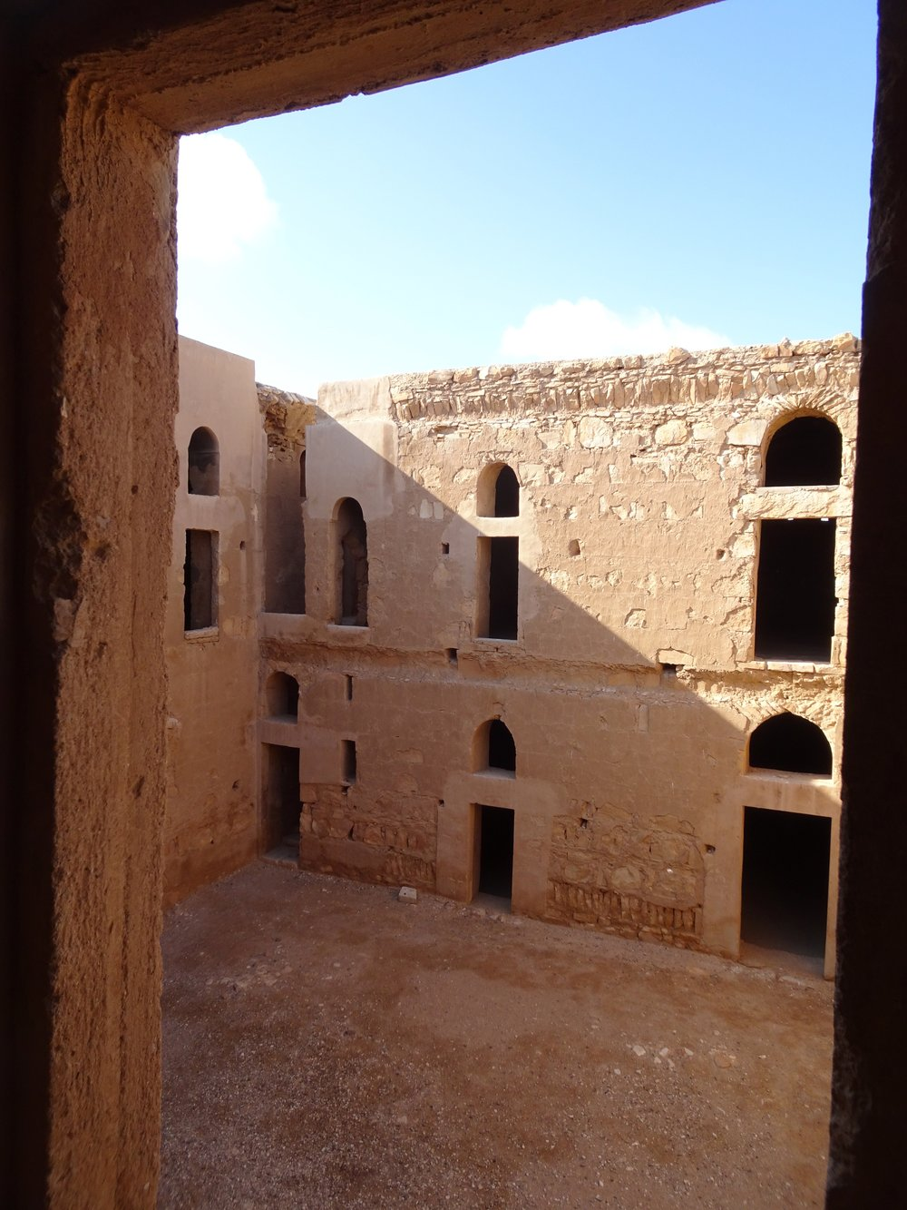 Inside an Umayyad castle