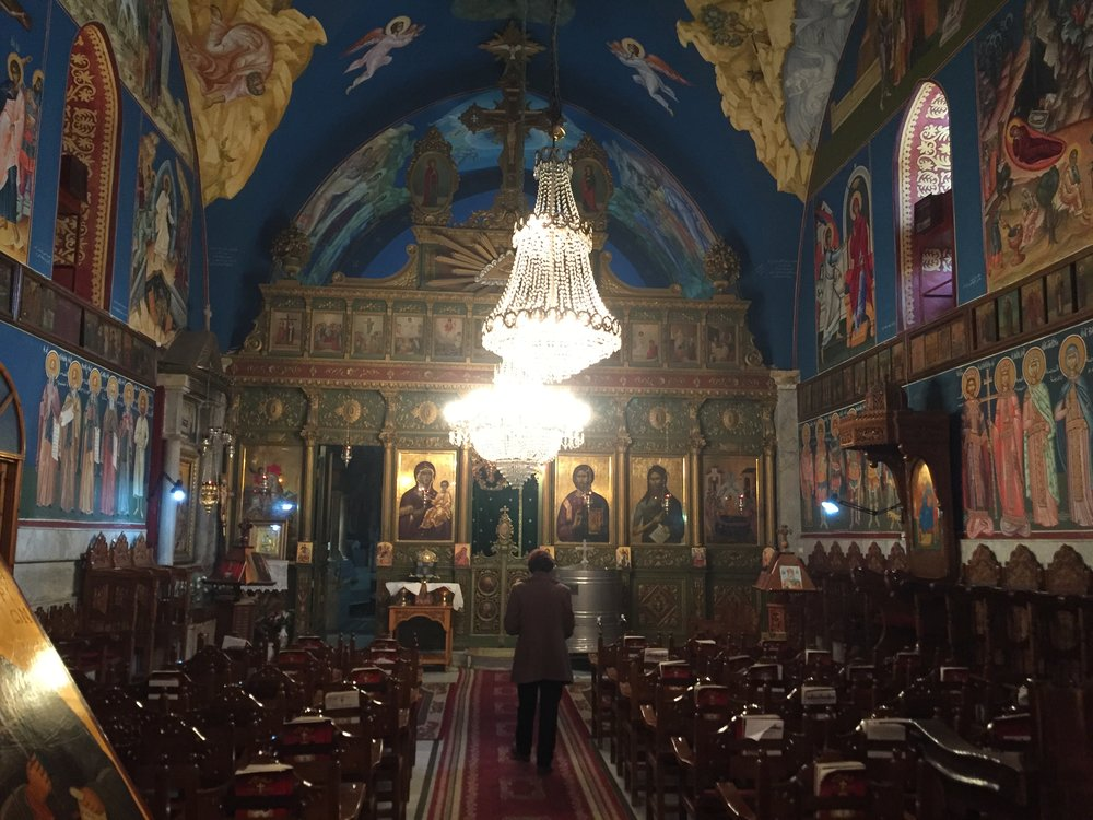 Christian (Greek Orthodox) church built in 407 AD in Gaza City