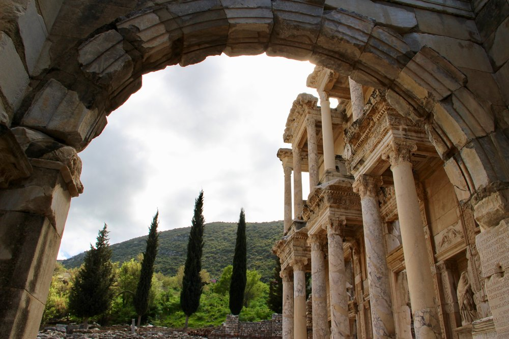 Ephesus - 2nd century AD. One of the 4 largest Roman cities in the world. They lived well here.