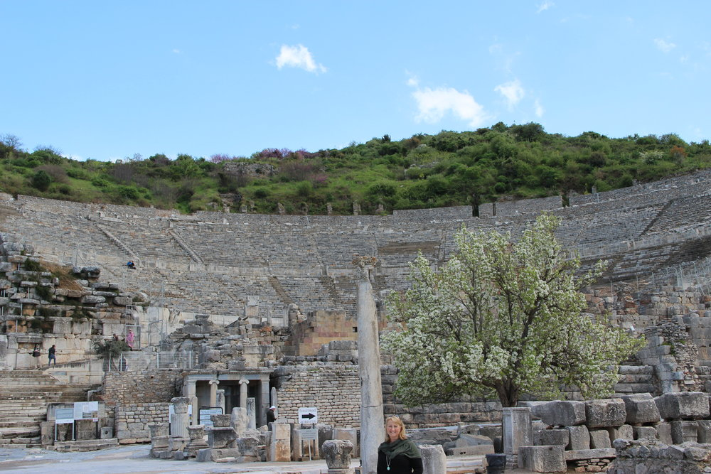 Ephesus - My kind of theatre! Beautiful location and large enough for serious entertainment.