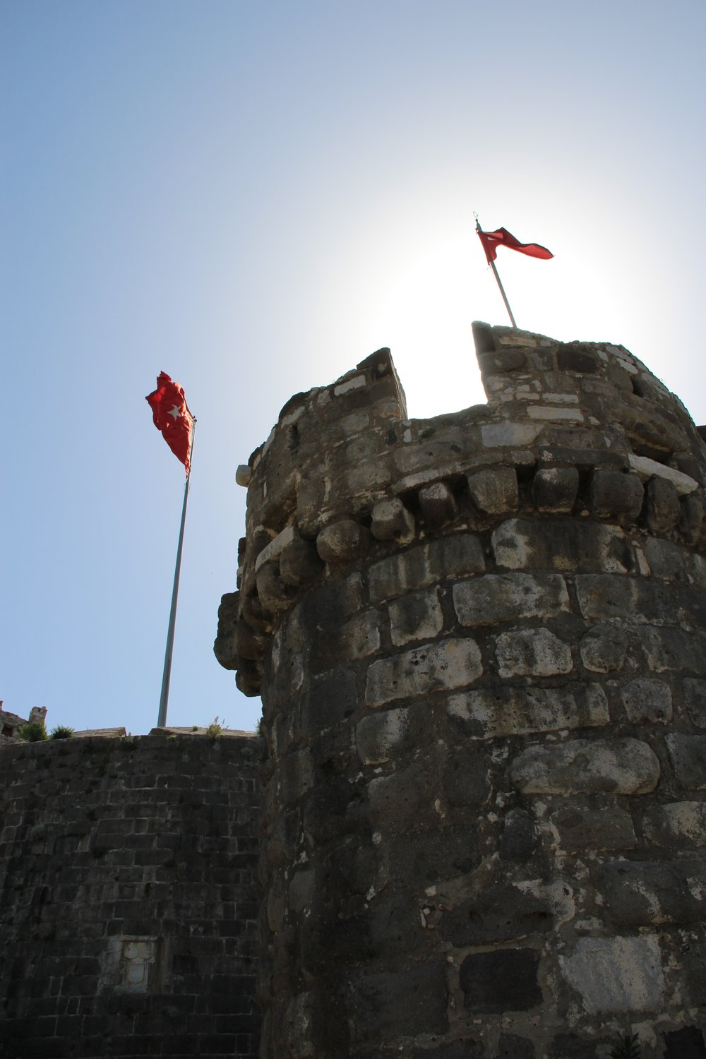 The knights of St John's castle in Bodrum - build in 1400 to resist the Ottomans