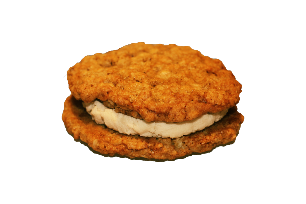 Oatmeal Cookie with Sout Buttercream Sandwich