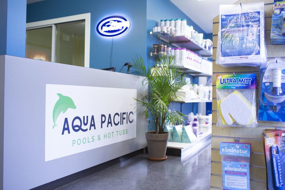 Aqua Pacific interior 1