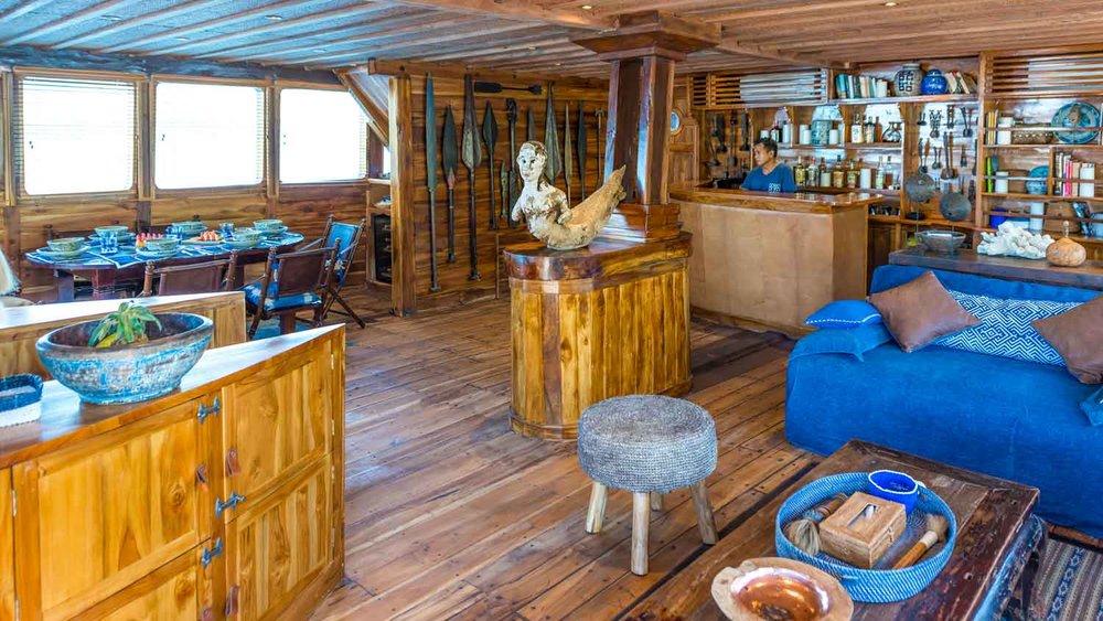 Indoor area of Ocean Pure