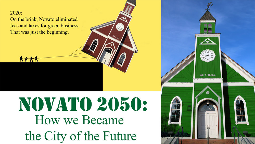What will the Novato residents of 2050 think about the decisions we made in 2020?