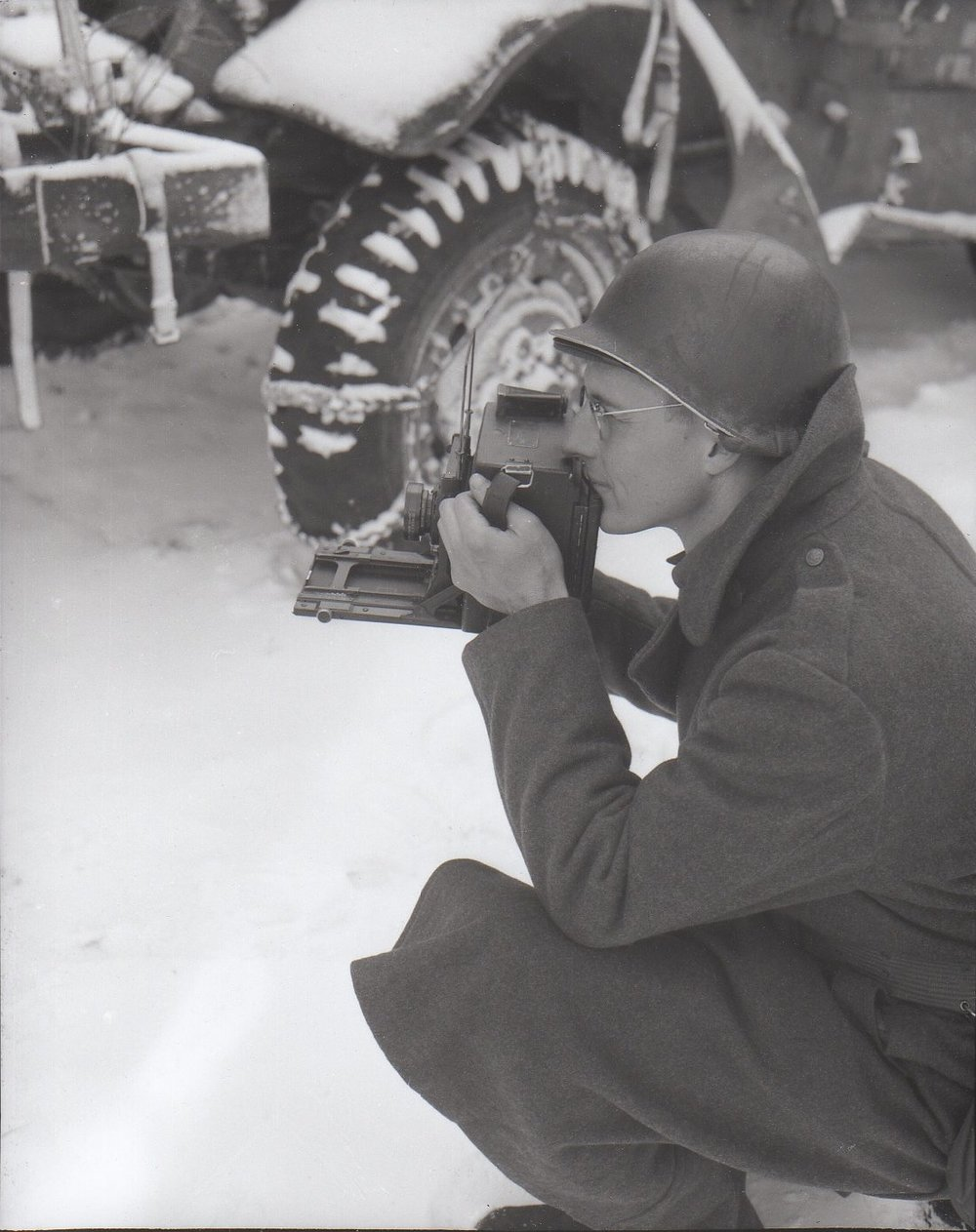 The Lasting Impact of Service - My grandfather, W. Bryan Allen, was a WWII combat photographer. His accounts of the war help piece together a history of tragedy and hope. A couple of years ago I wrote a few words and shared some of my favorite photographs from his tour in Europe.