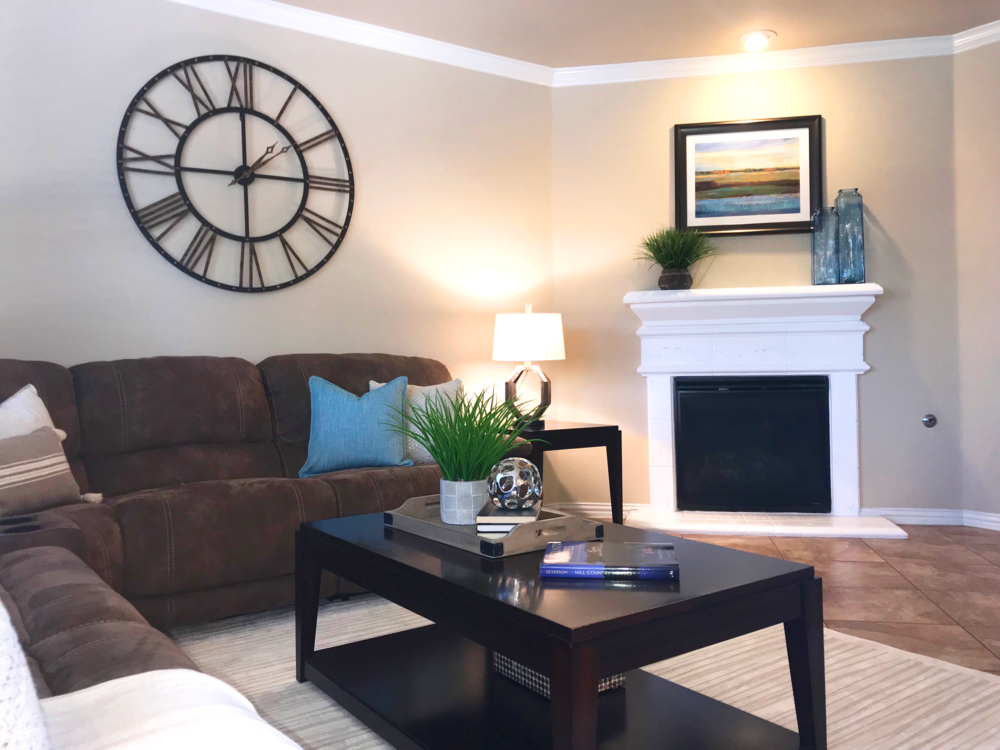 Staging by Debut Homes
