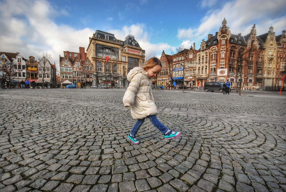 Caroline in Ghent.JPG