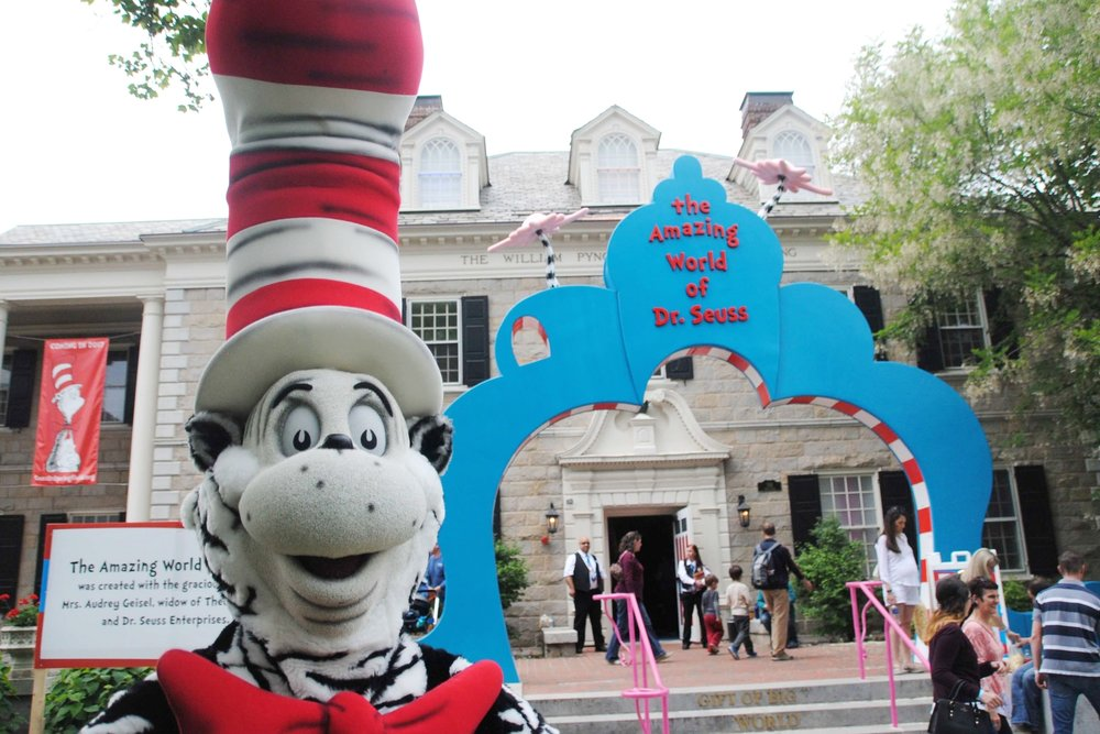 dr seuss museum - cat in the hat