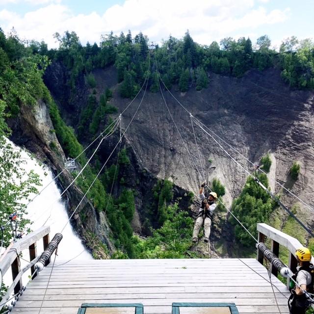 Montmorency Falls Zip Line