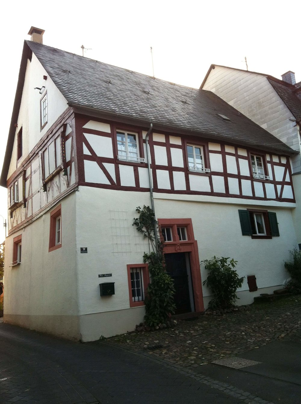 Our place for the weekend in small town Germany.