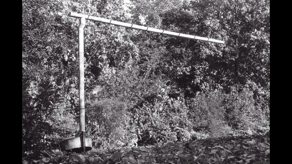 Mój dom - instalacja meteorologiczna Warszawa, 1988 fot. J. Kalina