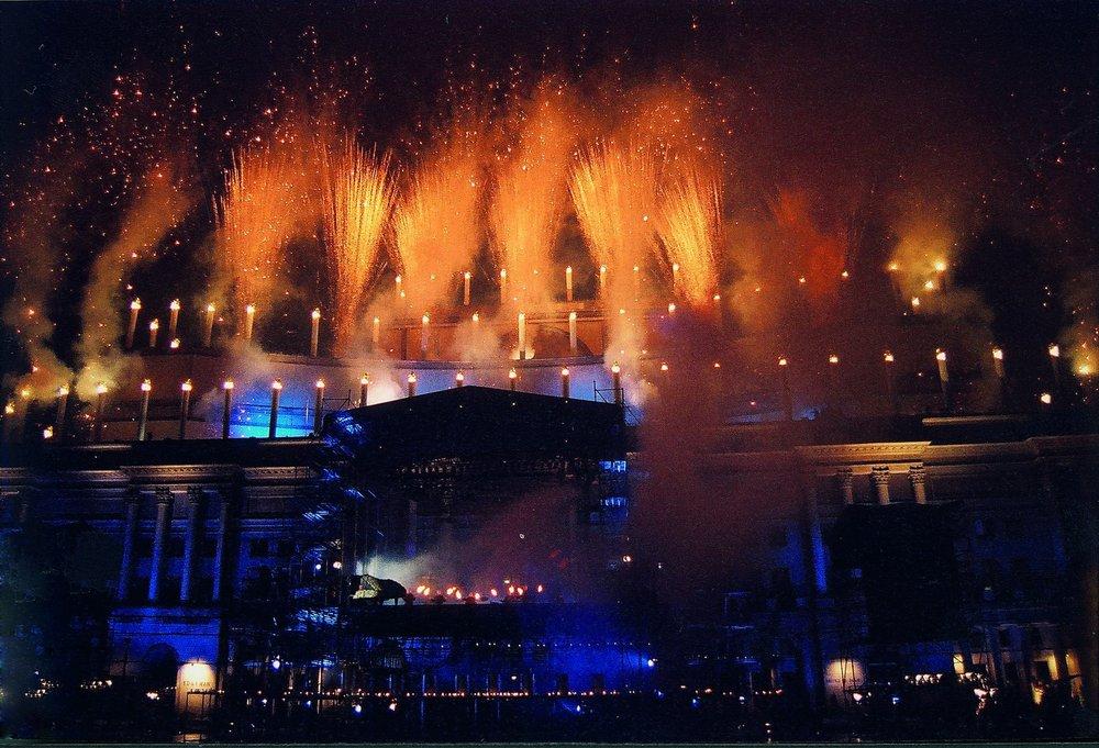 """""""Tort Narodowy"""" Teatr Wielki - Opera Narodowa Warszawa, Sylwester 1999-2000 fot. Piotr Grześczyk"""