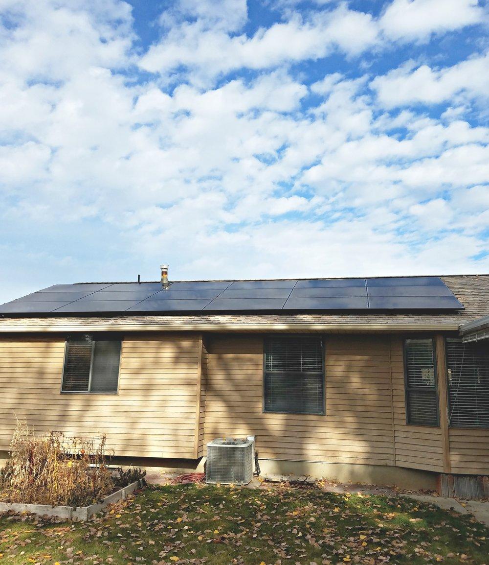 testimonial solar residence