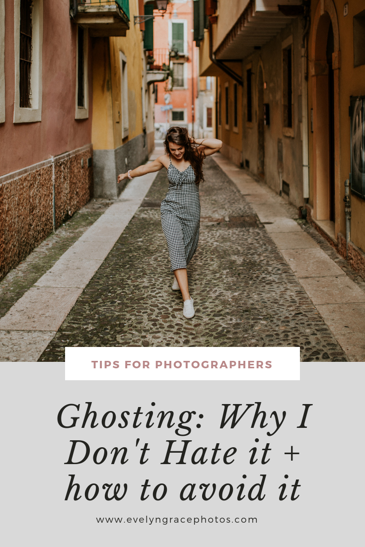 ghosting: why I don't hate it & how to avoid it