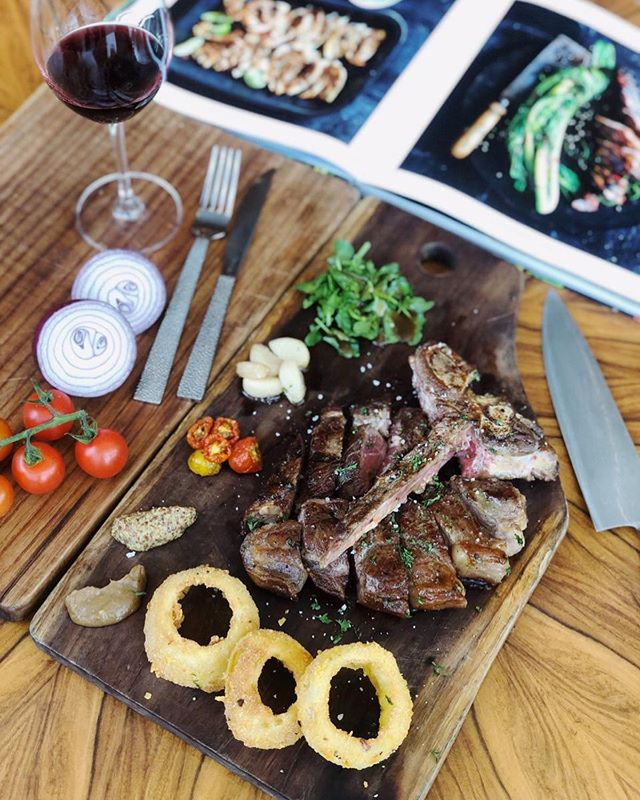 Meat lovers, rejoice! Our new AUS-MSA Angus T-Bone is ready to be served on your table. Visit @the18th_tlh and have a satisfying dinner experience with your loved ones.  #TheTransLuxuryHotel #transluxuryexperiences  #the18th #the18threstaurantandlounge #the18th_tlh