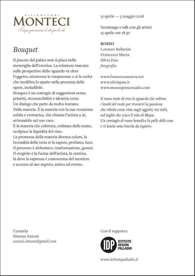 Bouquet - ROSSO