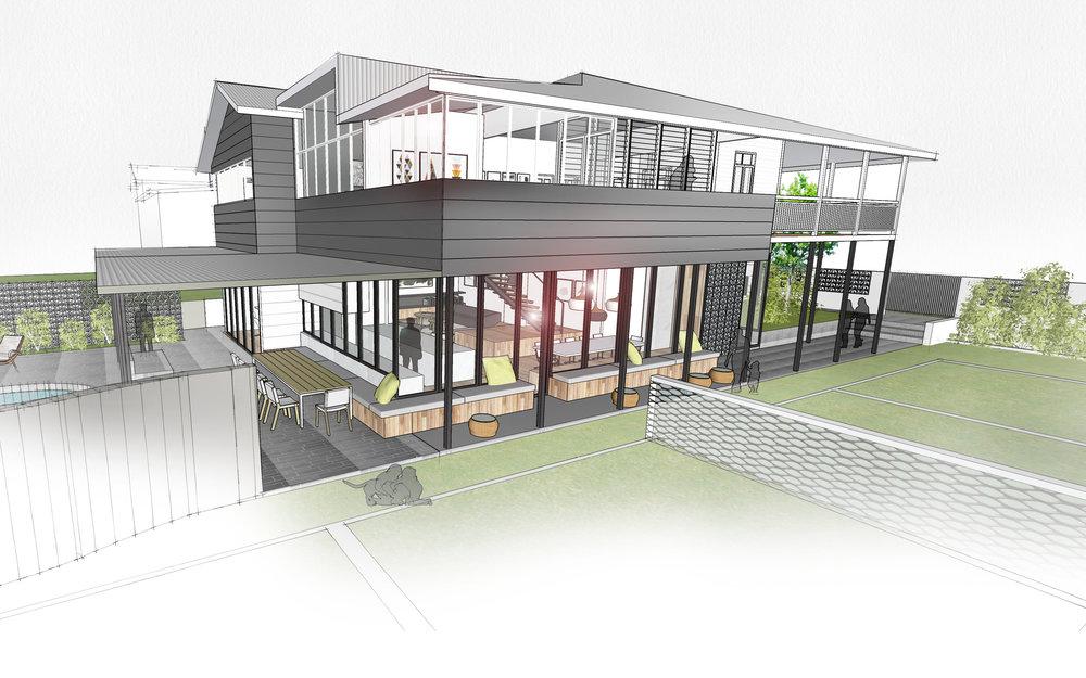 Northern-Rivers-Beach-House-Byron-Bay | North-Eastern Facade