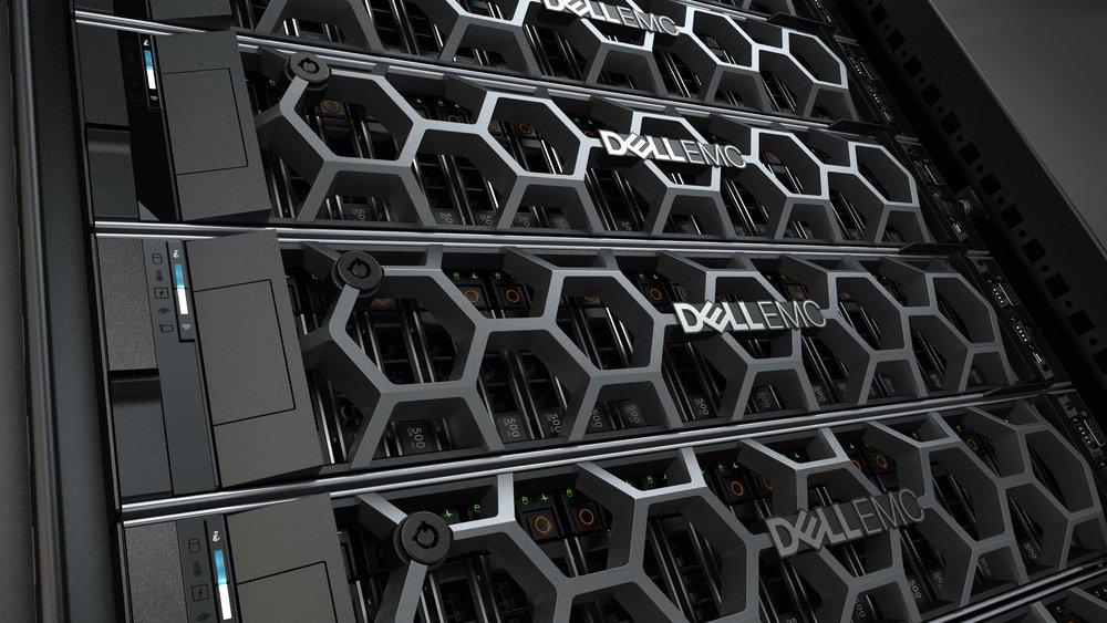 dell emc poweredge - 14G Rack Server Visual Brand Language