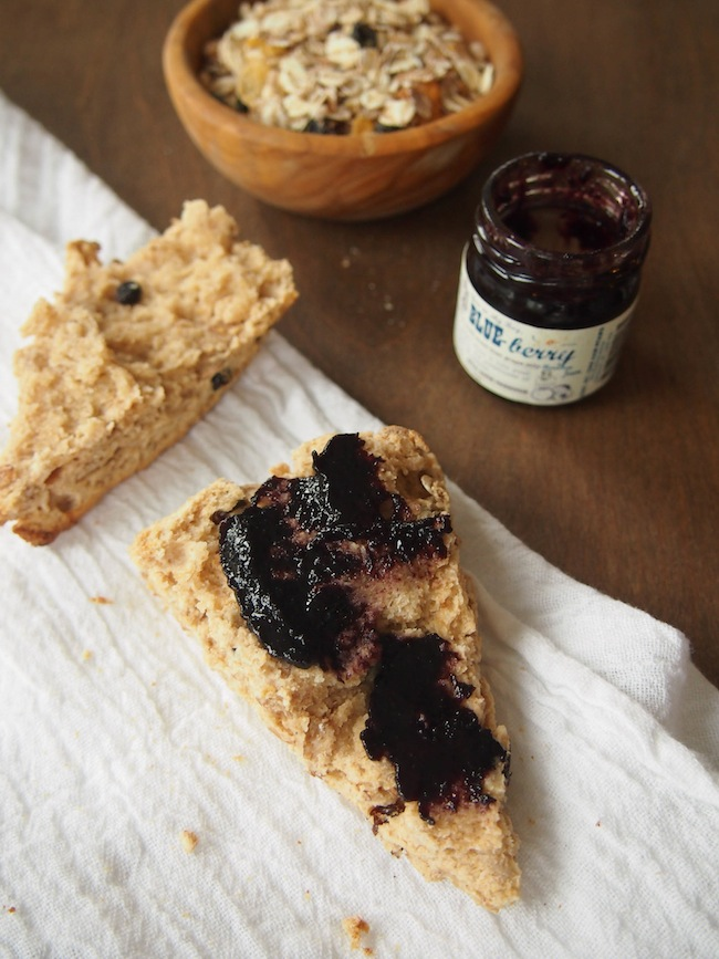 Low Sugar Whole Grain Scone
